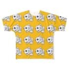 shop-rのshop-rちゃんめっちゃイエロー Full graphic T-shirts