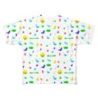 もち米のLet's bouldering! Full graphic T-shirts