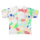 ビーチコーマーのカシパン、ビー玉、ビーチグラス Full Graphic T-Shirt