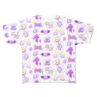 ヌンのファンシー8BITものぐらむ Full graphic T-shirts