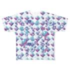 m7kenjiのENTERTAINMENTフルグラフィックTシャツ