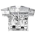 キネオラマの第二理科室 Full graphic T-shirts