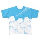 大賀一五の店の巨兎雲が来た Full Graphic T-Shirt