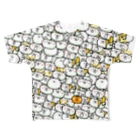 モリヤマ・サルの腐ったミカンがウヨウヨ~ Full graphic T-shirts