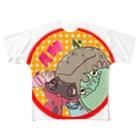 SWの両生類いろいろ Full graphic T-shirts