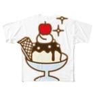 3pondSのchoco vanila Full graphic T-shirts