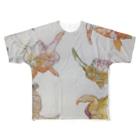 Keiko Nishikawaのkame Full graphic T-shirts