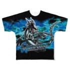 SUNWARD-1988の【フルグラTシャツ】ルールレジェ-BLACK DRAGON Full graphic T-shirts