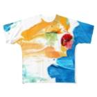 音楽と鳥舎のadagietto All-Over Print T-Shirt