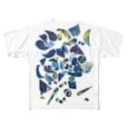 STOCK nookのたのしい雨の日 Full graphic T-shirts