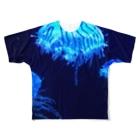 麻生塾 デザイン・クリエイティブ実験SHOPのmirage Full graphic T-shirts