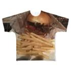 showtaのhamburger Full graphic T-shirts