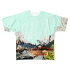 詰めろのチルアウトver.2.0 Full graphic T-shirts