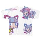 Cosmic Ninja -YAMIICHI-のオシリたゃん フルグラフィックTシャツ