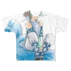 らんさんのテキトー手探り手抜きショップのホワイトデー Full graphic T-shirts