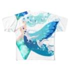 chirukapolkaの水の魔法 Full Graphic T-Shirt
