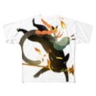 chirukapolkaの炎の魔法 Full Graphic T-Shirt