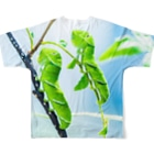 ミノリストアの芋虫 フルグラフィックTシャツ