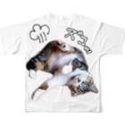 cheeのモズのズコっティー Full graphic T-shirtsの背面