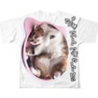 cheeのもずくのちょうどいい フルグラフィックTシャツ