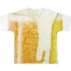 chicodeza by suzuriのビール好きの為に フルグラフィックTシャツ