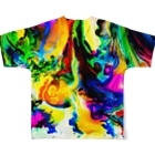 nor_tokyoのdyebirth_006 Full graphic T-shirtsの背面