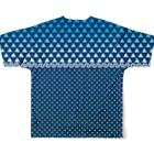 原田専門家の芝浜 Full graphic T-shirtsの背面