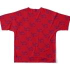CHEBLOの半目のヤンチー Full graphic T-shirtsの背面