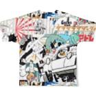 Itsu Horiguchiの脳内パニック Full graphic T-shirtsの背面