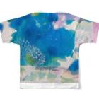 peonicのmisumi Full graphic T-shirtsの背面
