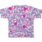 MAYAのちびちびXenna Full graphic T-shirtsの背面