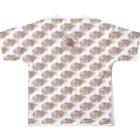 TAIYAKI INSANITYのたい焼き大好き 〈叢〉 Full graphic T-shirtsの背面