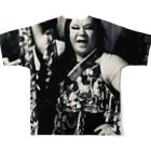 SADAHARU_ HIGA_HAUTE COUTREのSADAHARU HIGA HAUTE COUTURE・アムロにはなれなかったけどトシミにはなれた女装。 Full graphic T-shirtsの背面