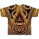VULGAR FACTORYのBODYCON$CIOU$ Full graphic T-shirtsの背面