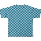 MOYOMOYO モヨモヨのモヨーP137 Full graphic T-shirtsの背面