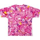 CHAX COLONY imaginariのいたずらぐまのグル〜ミ〜 (A) Full graphic T-shirtsの背面