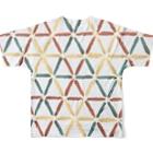 herbrecordzの刺子ラスタ Full graphic T-shirtsの背面