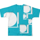 .JUICY-SHOP. | JOYFULのJOYFUL x JOYFUL No.00001 Full graphic T-shirtsの背面