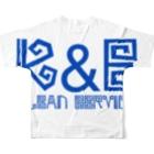 GUTSUのK&E Full graphic T-shirtsの背面