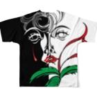 suparnaの聲 Full graphic T-shirtsの背面