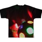 おやすみねんねのディスコボール・くま Full Graphic T-Shirtの背面