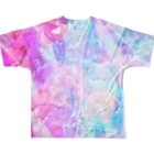 IENITY / MOON SIDEの【IENITY】HOLOGRAPHIC BEAR Ver.B Full graphic T-shirtsの背面