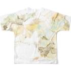 mayapatternの迷彩のような Full graphic T-shirtsの背面
