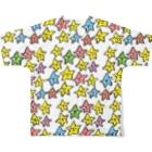 ゴキゲンサンショップのおほしさまたち。 Full graphic T-shirtsの背面