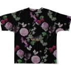 Melts with Dustyのらくえん Full graphic T-shirtsの背面