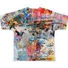 tomomigotoの意味なんてない②(両面) Full graphic T-shirtsの背面