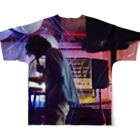 Mino-chang(spoon)のFull graphic T-shirtsの背面