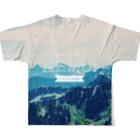 OFUZAKEのMN_MOUNTAIN2 Full graphic T-shirtsの背面