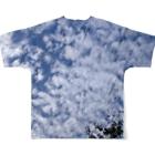 Lily bird(リリーバード)のいわし雲photo2 Full graphic T-shirtsの背面