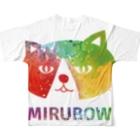 MIRUBOW SHOPのMIRUBOW フルグラフィックTシャツ Full graphic T-shirtsの背面